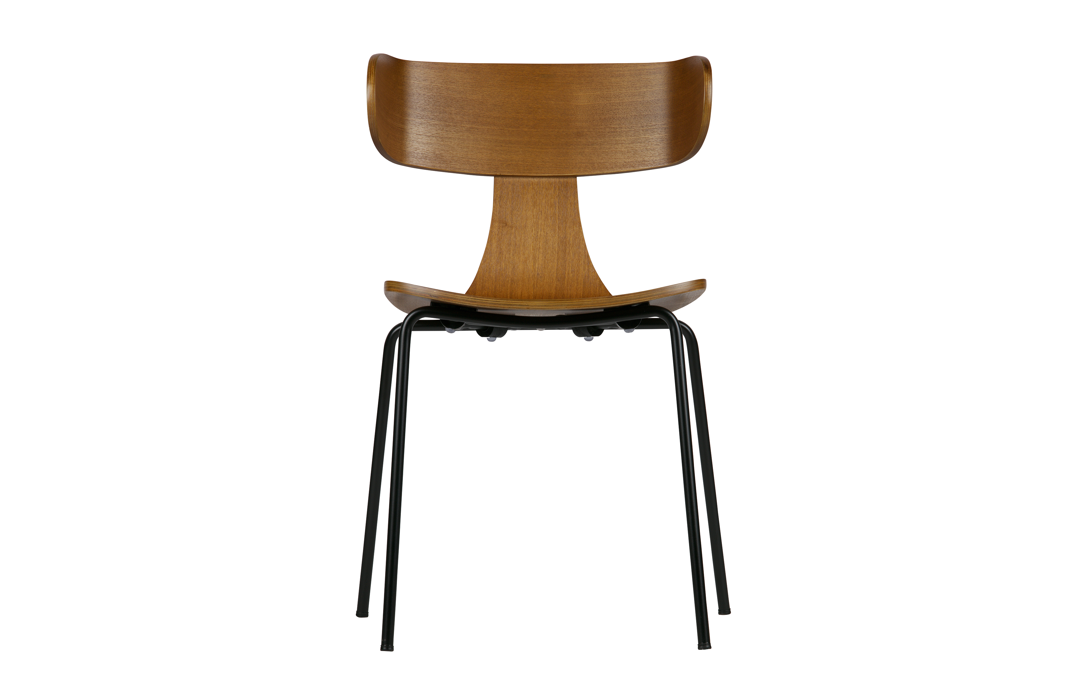 Be Pure Stoel : Form wooden chair with metal legs brown chairs living bepurehome