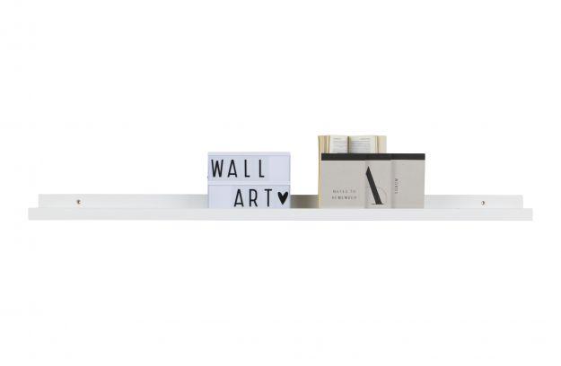 Fotoplank 120 Cm.Studio Photoframe Shelf Mdf White 120cm Accessoires Deco Woood