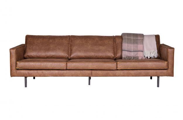 Rodeo Sofa 3 Seater Cognac Sofas Wohnzimmer Bepurehome