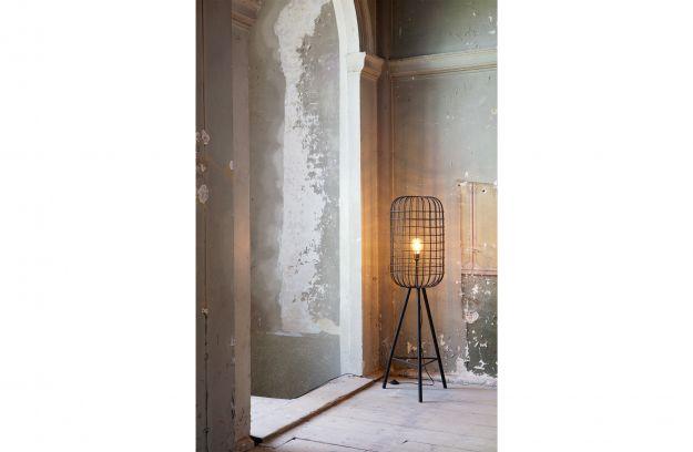 Woondock Duiven Lampen : Hurricane stehleuchte metall schwarz lampen dekoration
