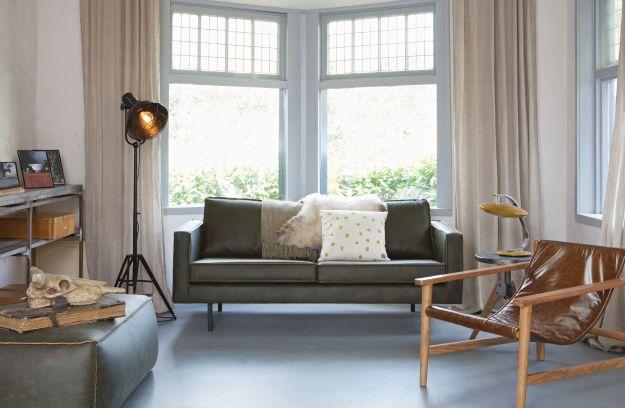 Rodeo sofa 2,5-sitzer army | Sofas | Wohnzimmer | BEPUREHOME