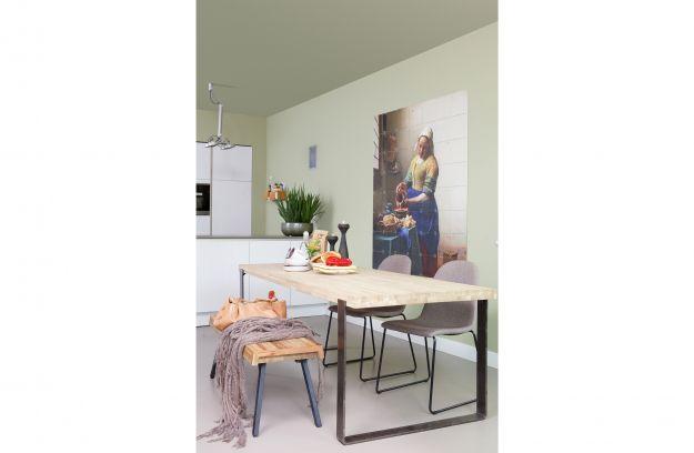 Jamie dining 220x90 fumedmetal legs [fsc] | Tables | Dining | Woood