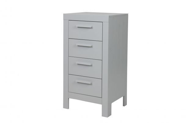 Dennis Drawer Cabinet Concrete Grey Fsc Storage Living