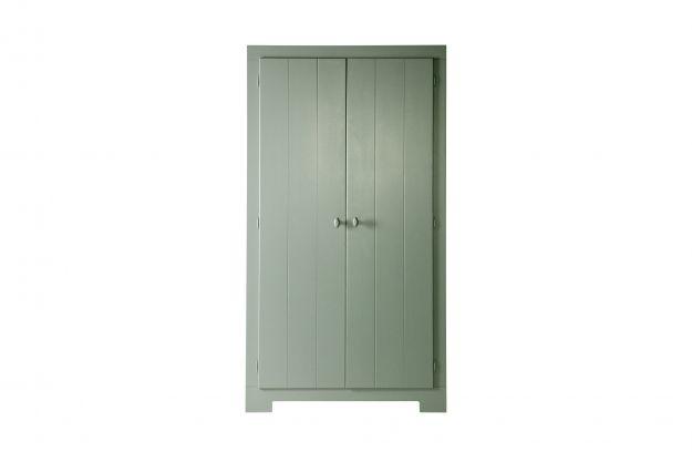 Nikki Wardrobe Pine Green Fsc Storage Kids De Eekhoorn