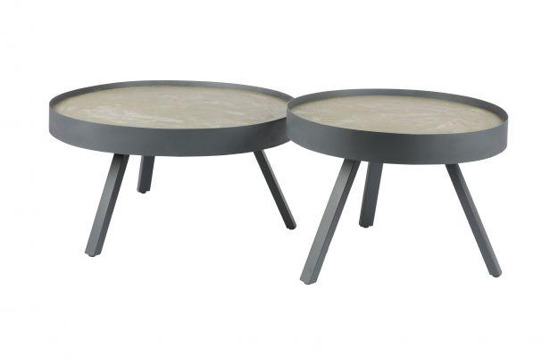 Salontafel Van Beton : Zurn ronde salontafel beton meublie