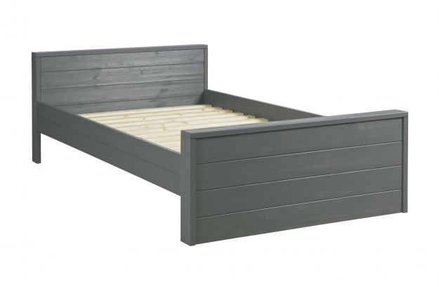 Woood Dennis Bed.Dennis Bed 120x200 Cm Steelgrey Fsc Beds Kids Woood