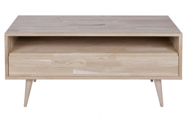 Eiken Woonkamer Meubelen : Tygo tv meubel cm eiken met retro poten opbergen woonkamer