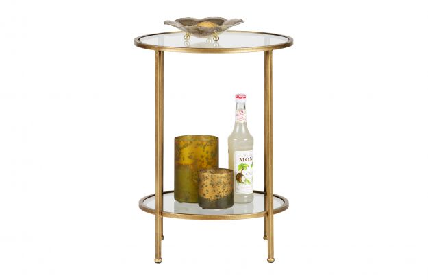 Goddess sidetable metal antique brass | Tables | Deco | BEPUREHOME