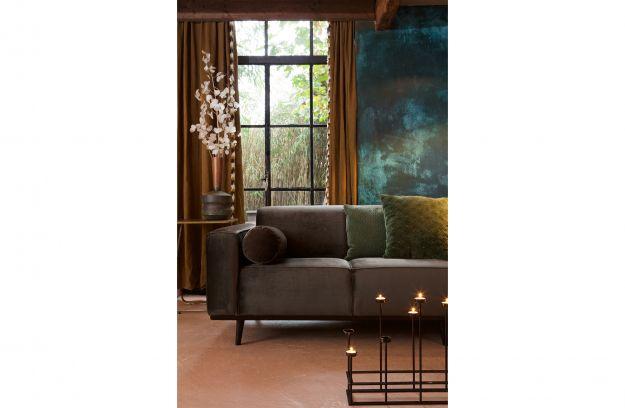 Spool cushion velvet green | Accessoires | Deco | BEPUREHOME