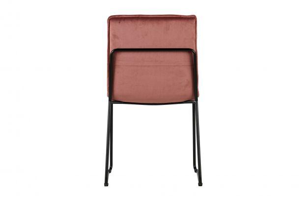 Oud Roze Fauteuil : Set v evan eetkamerstoel fluweel oud roze stoelen eetkamer