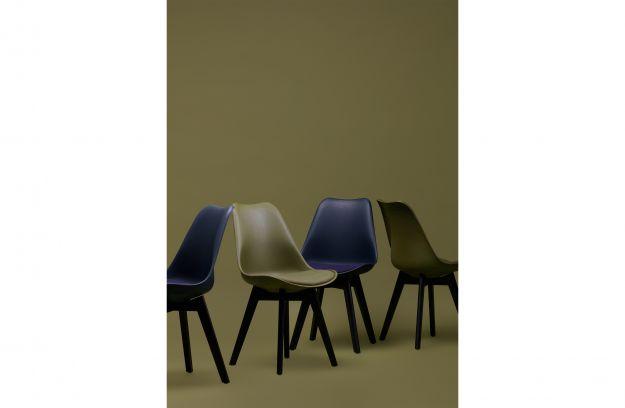 Eetkamer Stoel Groen : Set v 2 stan eetkamerstoel groen stoelen eetkamer woood