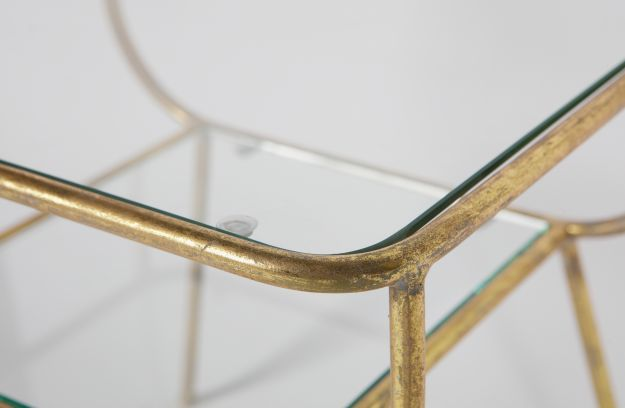 Amazing sidetable metal/glass antique brass | Tables | Living ...
