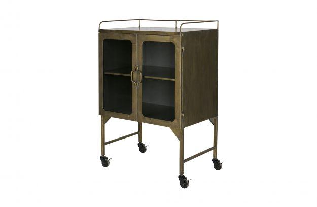 Talent metal cabinet antique brass | Storage | Living | BEPUREHOME