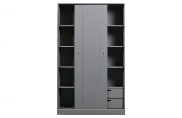Move Sliding Door Cabinet Pine Leem Fsc Storage Living