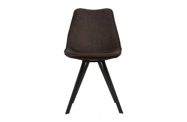 Eetkamer Stoel Groen : Set v 2 swen eetkamerstoel fluweel antraciet groen stoelen