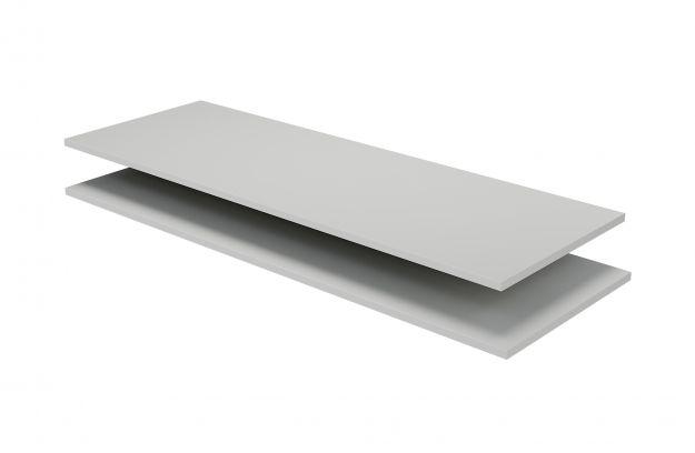 Legplanken Set Tbv Organize Kast 62cm Grenen Mist Fsc