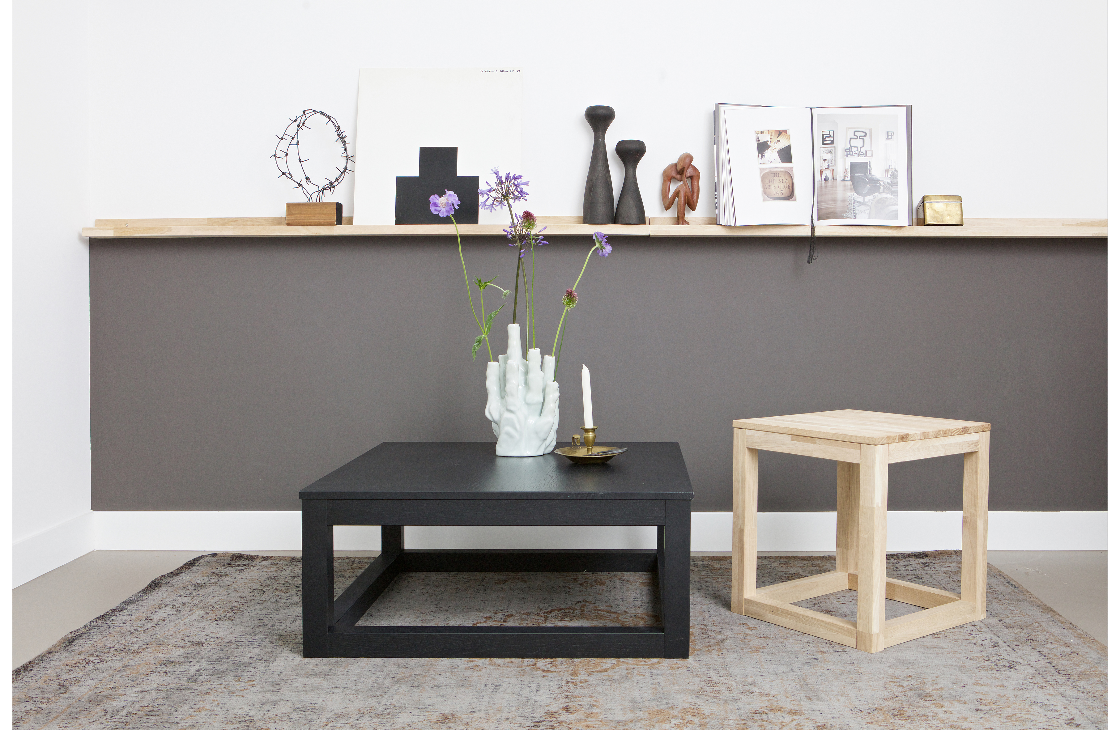 Wandplank Eiken Karwei.Studio Fotolijstplank 120cm Eiken Accessoires Deco Woood