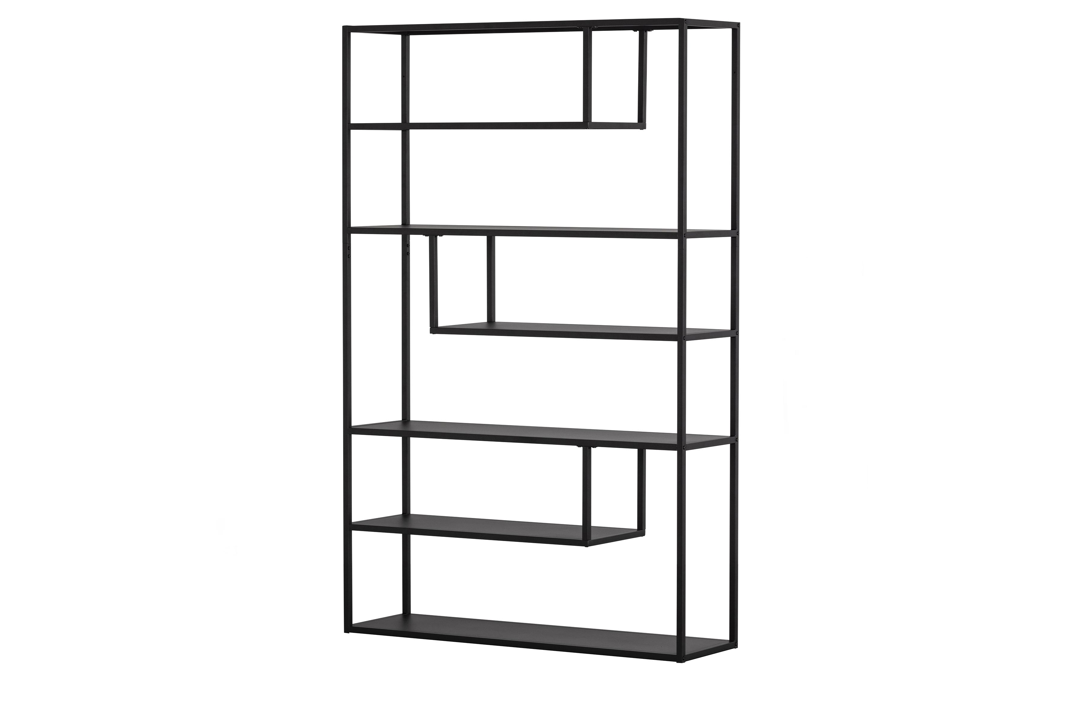Teun Cabinet Xl Metal Black Storage Living Woood