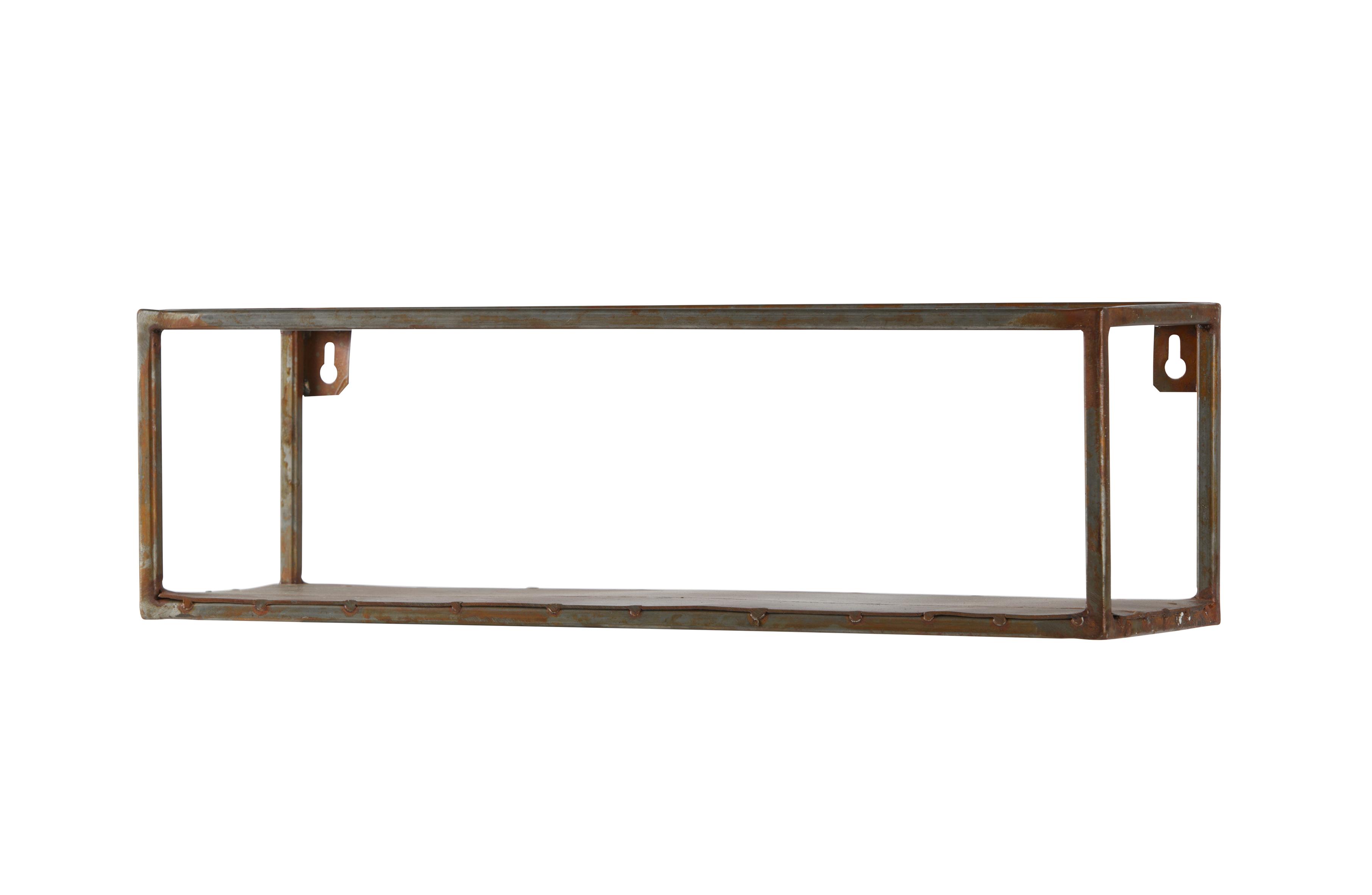 Welldone Wandregal L Metall Rost Accessoires Dekoration De