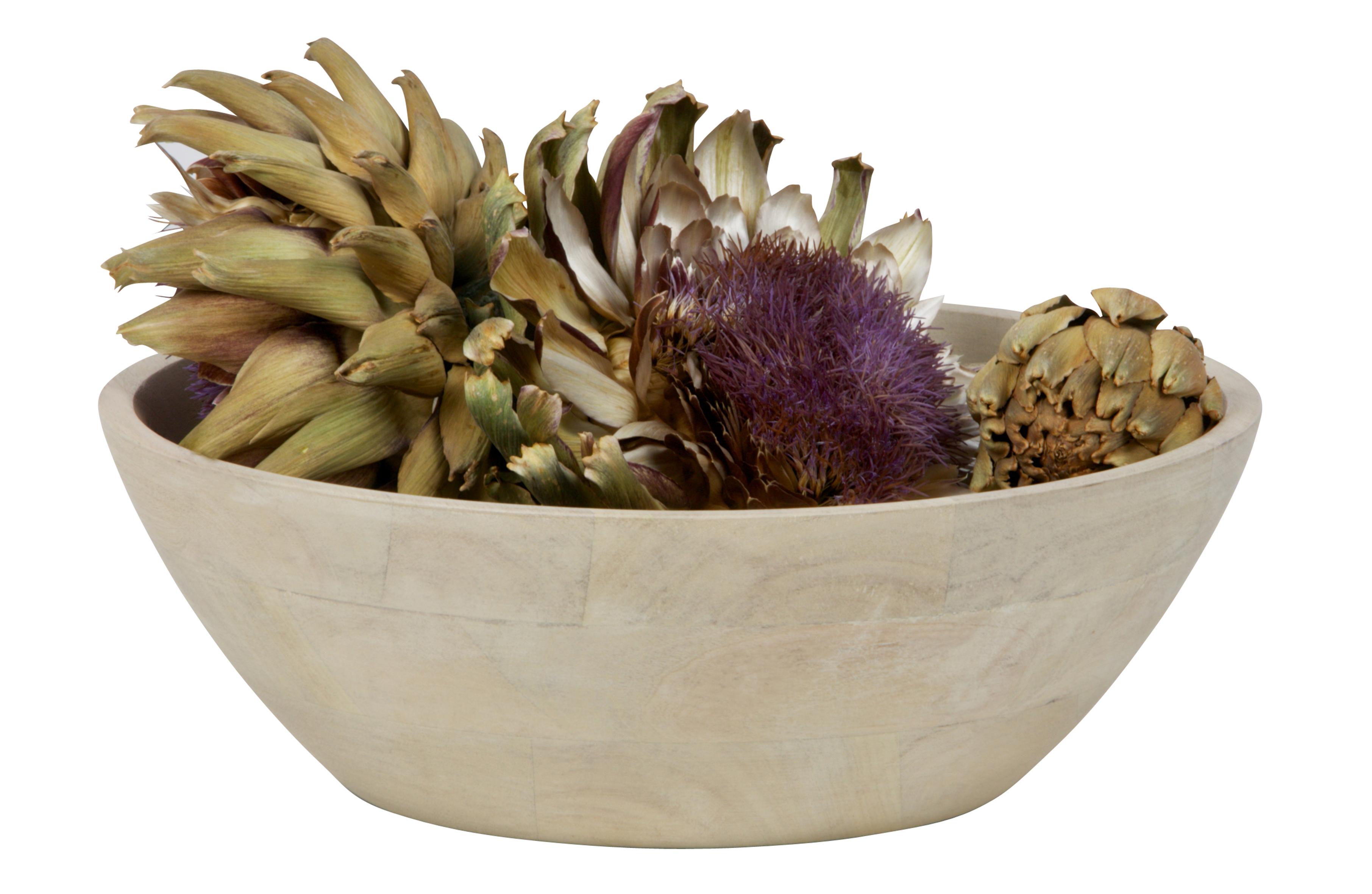 drum bowle l holz white wash accessoires wohnzimmer. Black Bedroom Furniture Sets. Home Design Ideas