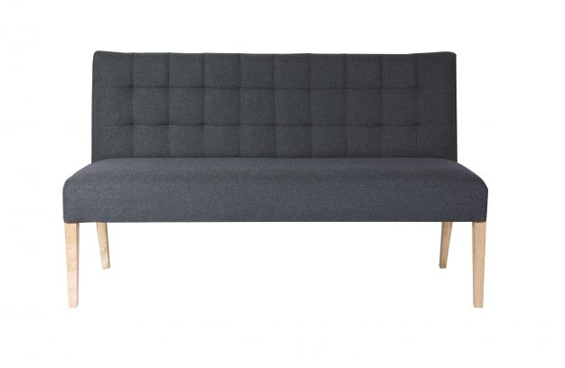 Dinner Sofa tijmen dinner sofa antracite 156cm chairs dining benches