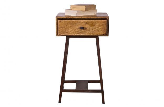 Skybox Sidetable Natural Small Furniture Living De Eekhoorn
