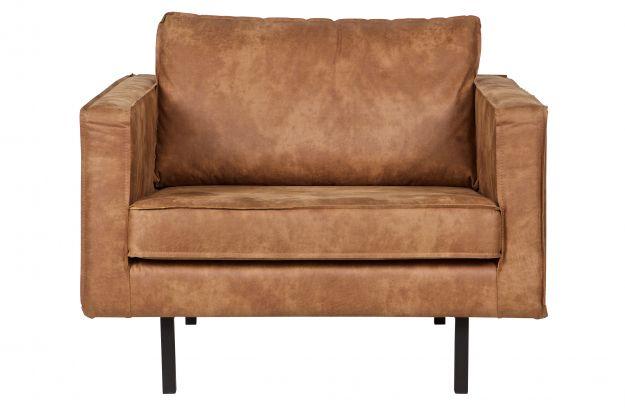 Rodeo fauteuil cognac | Banken | Woonkamer | BEPUREHOME