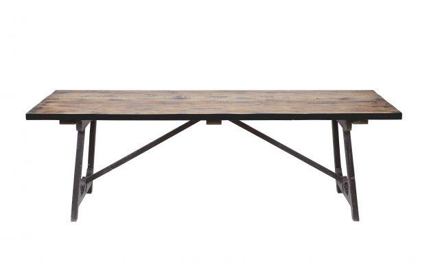 Craft table À manger noir 220x90 | Tables | Salle a manger | BEPUREHOME