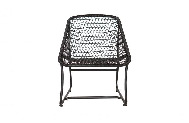 Vigo lounge stoel zwart | Stoelen | Woonkamer | Woood