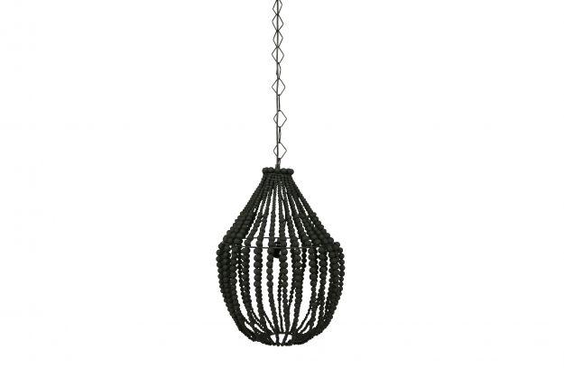 Kronleuchter Dekoration ~ Funale kronleuchter holz groß schwarz lampen dekoration