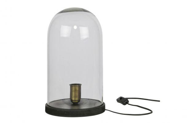 Cover up tafellamp stolp zwart lampen deco bepurehome