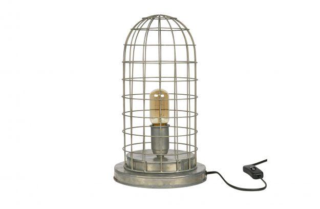 Woondock Duiven Lampen : Hive kooi tafellamp zink lampen deco bepurehome