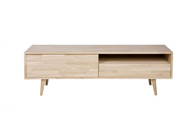 tv kast. product structure tygo tv unit oak untreated, retro legs kast
