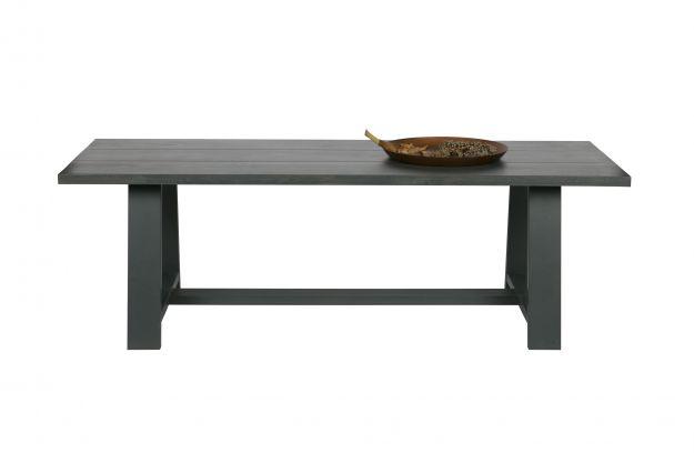 Eetkamer Grijze Eik : Square eetkamertafel cm eiken grijs fsc tafels