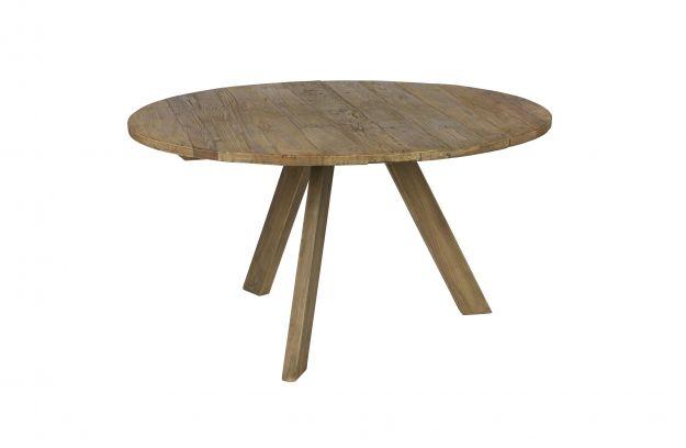 Tondo eettafel Ø cm old elm tafels eetkamer bepurehome