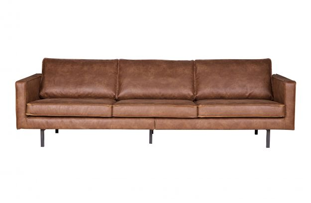 Product Structure Uk Rodeo Sofa 3 Seater Cognac