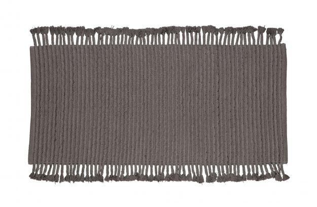Mink Teppich Baumwolle Anthrazit 170x240 Accessoires Wohnzimmer