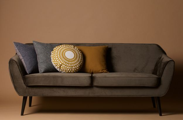 rocco sofa samt warmen gr n sofas wohnzimmer de eekhoorn. Black Bedroom Furniture Sets. Home Design Ideas