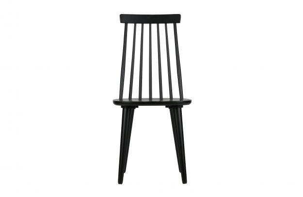 Produktstruktur 2er Set   Sticks Bars Stuhl Holz Schwarz