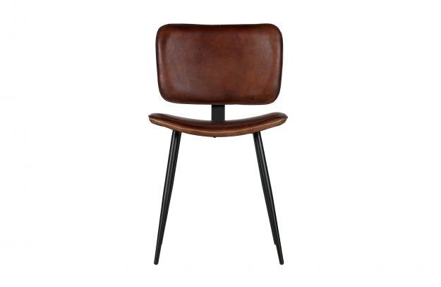 Range chaise cuir cognac | Chaises | Salle a manger | BEPUREHOME