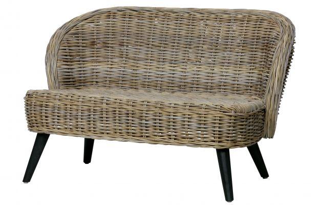 Peachy Sara Small Sofa Rattan Natural Sofas Indooroutdoor Woood Machost Co Dining Chair Design Ideas Machostcouk