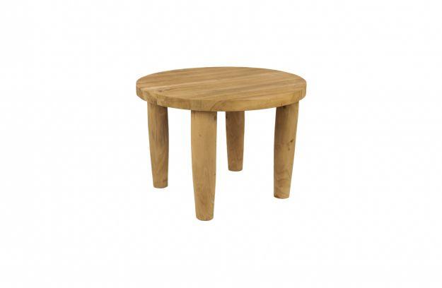 Raaf kruk hout naturel 35xØ50 | Stoelen | Woonkamer | Woood