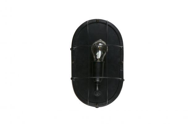 Woondock Duiven Lampen : Gabber wand lampe metall schwarz lampen dekoration woood