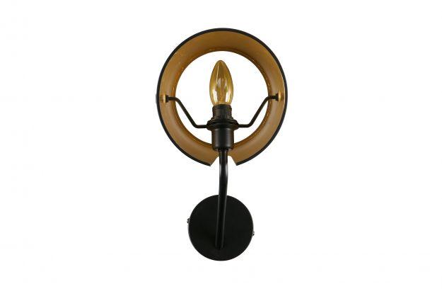 Woondock Duiven Lampen : Pien wand lamp metall schwarz lampen dekoration woood