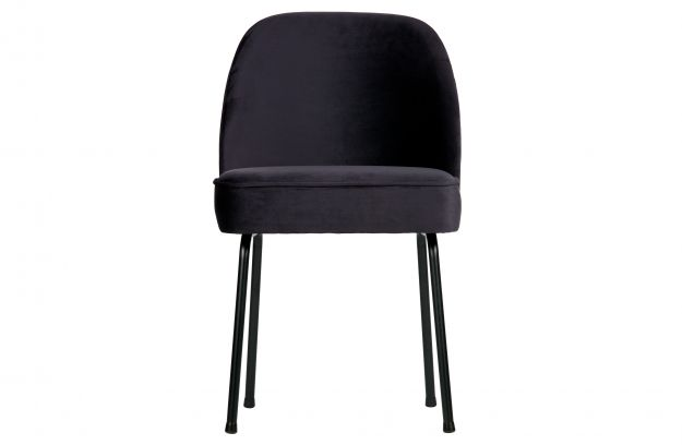 Vogue Chaise Velours Encre Chaises Salle A Manger Bepurehome
