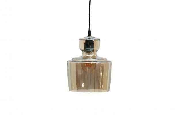 Stream suspension lampe antique brass Ø17cm | Luminaire